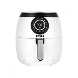 TESLA AirCook Q50 XL - multifunkèní digitální horkovzdušná fritéza (bílá barva)