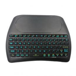 TESLA D8 mini bezdrátová klávesnice s touchpadem