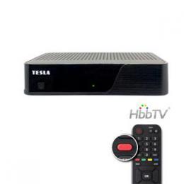 TESLA HYbbRID TV T200 pøijímaè T2 HEVC H.265 s HbbTV
