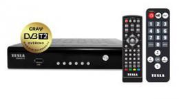 TESLA SENIOR T2 - set-top box DVB-T2 (H.265/HEVC), ovìøeno CRA