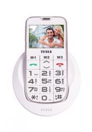 TESLA SimplePhone A50 - mobiln� telefon (b�l� barva)