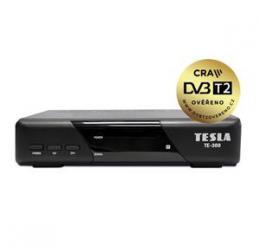 TESLA TE-300 DVB-T2 p�ij�ma�, H.265 (HEVC), FTA, DVB-T2 ov��eno