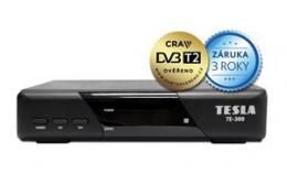 TESLA TE-300 - set-top box DVB-T2 (H.265/HEVC), ovìøeno CRA