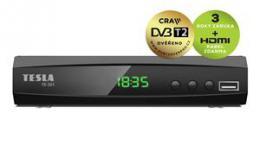 TESLA TE-321 - set-top box DVB-T2 (H.265/HEVC), CRA ovìøeno