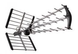 TESLA TE-345 venkovní anténa pro pøíjem DVB-T2 signálu, 470-790 MHZ, 15 dBi