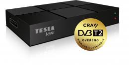 TESLA TE-380 mini, DVB-T2 HD p�ij�ma� s HEVC (H.265) ov��eno