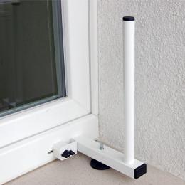 Unihold konzola pro anténu na plastové okno (bez vrtání!)