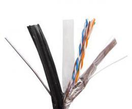 Zircon kabel FTPM 5e CCA 305m �ern�, z�v�sn� -venkovn�