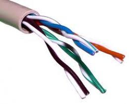 Zircon kabel UTP 5e CU LSZH - bezhalogenní 305m