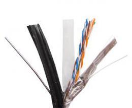 Zircon kabel UTP 5e CUPE 305m �ern� - venkovn�