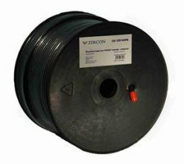 Zircon koaxiální kabel 125 CU CUPE èerný 100m