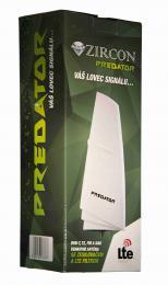 Zircon Predator aktivní venkovní anténa pro pøíjem DVB-T s LTE, FM a DAB