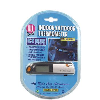 Teploměr vnitřní a venkovní teploty do auta