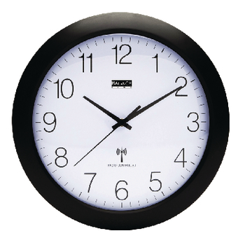 Radio controlled wallclock 30 cm