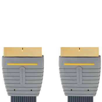 Bandridge - Flat Scart Audio Video Kabel