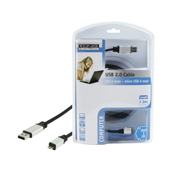 USB 2.0 USB - micro a USB-kabel