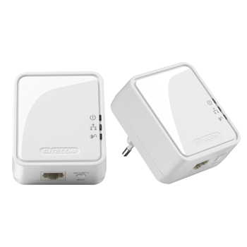 Mini Homeplug 500 Mbps Dual Pack