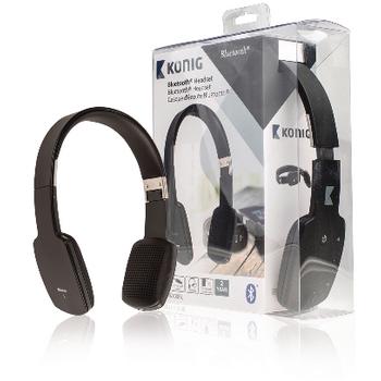 Bluetooth headset, černý