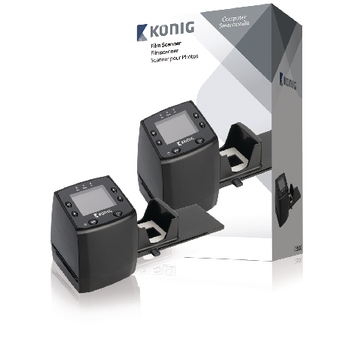 Filmový skener s 5megapixelovým snímačem a LCD displejem