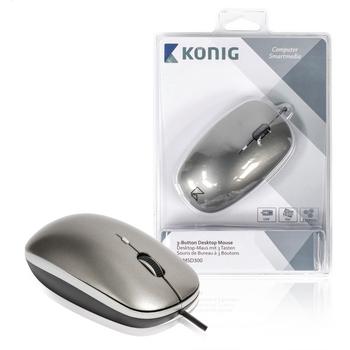 Počítačová myš se 3 tlačítky