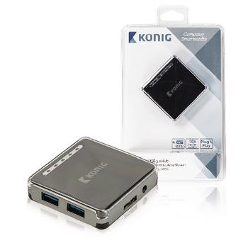 USB 3.0 rozbočovač, 4 porty
