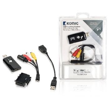 USB 2.0 video převodník