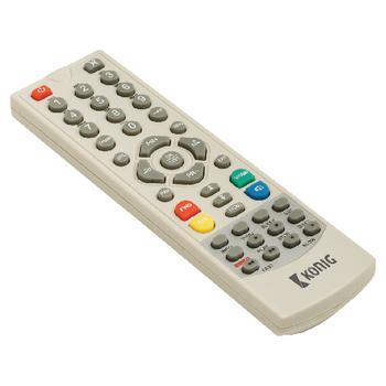 Dálkový ovladač pro satelitní přijímač DVB-S2 REC11