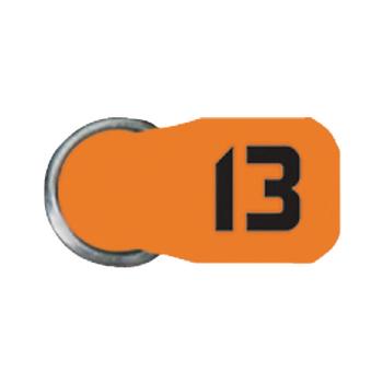 Baterie do naslouchátek ZA13, 8-blistr