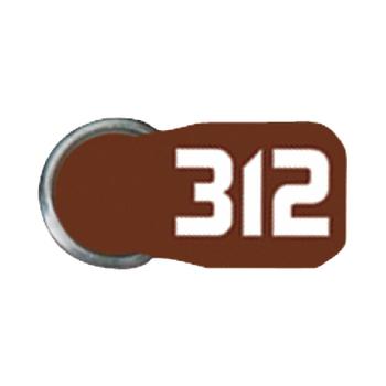 Baterie do naslouchátek ZA312, 8-blistr