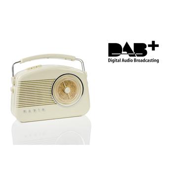 DAB retro rádio