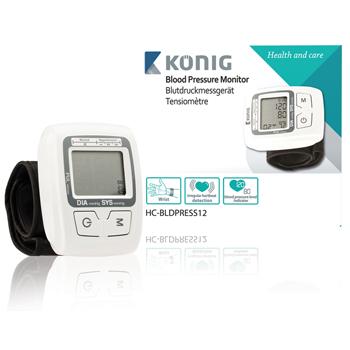 Automatický měřič krevního tlaku na zápěstí