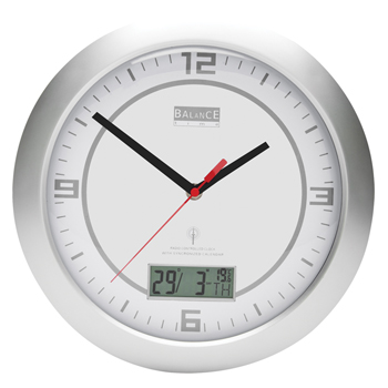 Radio controlled wallclock