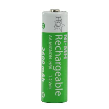 Akumulátor aa 1.2v/2600mah ni-mh, 4ks