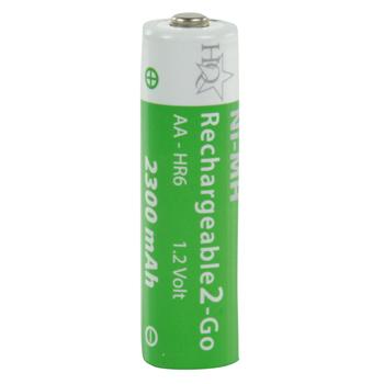 Akumulátor aa 1.2v/2300mah ni-mh r2u, 4ks