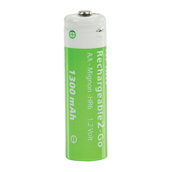 Akumulátor aa 1.2v/1300mah ni-mh r2u, 2ks