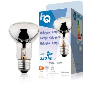 Halogenová žárovka, R63, E27, 28 W, 330 lm, 2 800 K