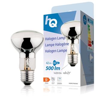 Halogenová žárovka, R63, E27, 42 W, 500 lm, 2 800 K