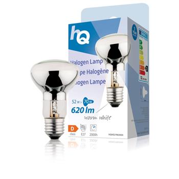 Halogenová žárovka, R63, E27, 53 W, 620 lm, 2 800 K