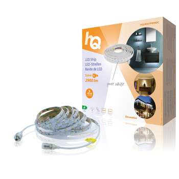 LED pásek pro snadné upevnění, čistá bílá, vnitřní/venkovní, 2 900 lm, 5 m