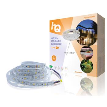 LED pásek pro snadné upevnění, RGB bílá, vnitřní/venkovní, 60 LED/m, 3 m