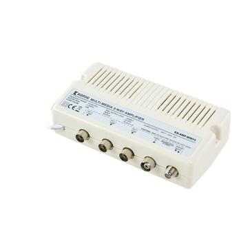 Multimediální zesilovač se 3 výstupy, zpětný kanál, 10 dB