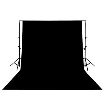 Foto pozadí 3x2m - černé