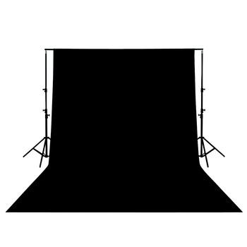 Foto pozadí 3x3m - černé