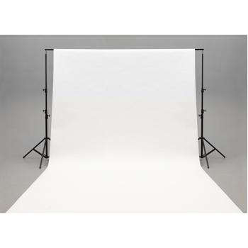 Foto pozadí 3x6m - bílé