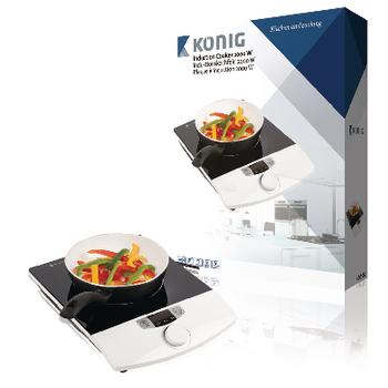 Indukční vařič, 2 000 W