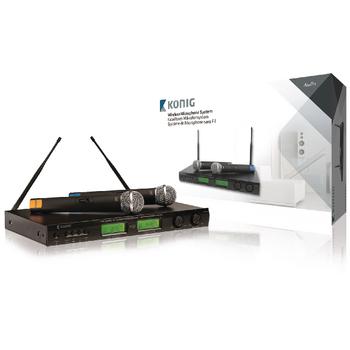 Bezdrátový mikrofonní 16kanálový systém