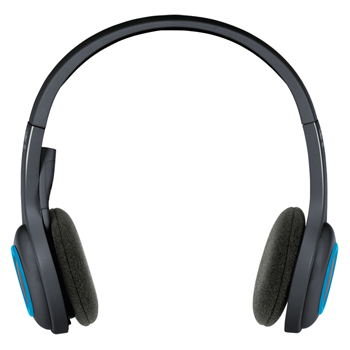 H600 wireless headset black / blue