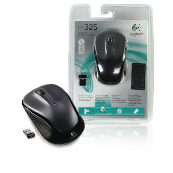 M325 wireless mouse drak grey