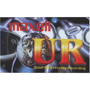 Kazeta audio 90min - maxell ur, 5ks