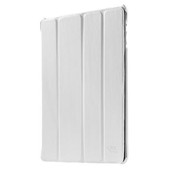 Kožené pouzdro pro iPad 2/3/4, bílé